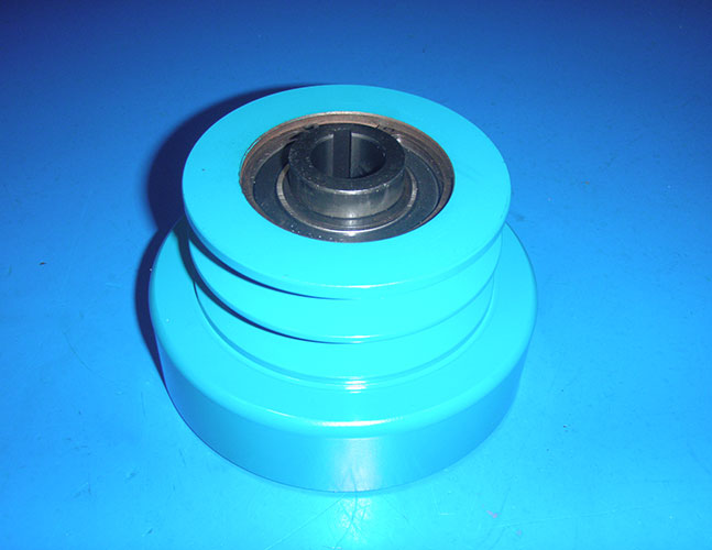 CENTRIFUGAL CLUTCH HEAVY DUTY DOUBLE GROOVE